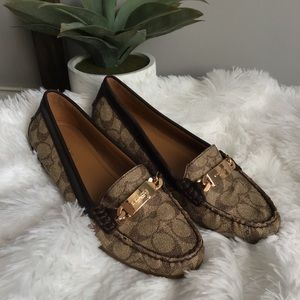 Coach Authentic Tan Loafers